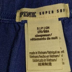 PINK Victoria's Secret Shorts - VS PINK Blue Sleep/Lounge Shorts